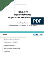HELIBAR  Tecnología para extrusoras de alta productividad y desempeño - Philipp Thieleke