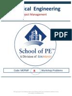 School of PE Econ Problems