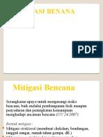 MITIGASI BENANA