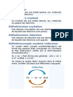 oxydo-reduction