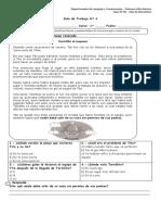Guía N° 4-Identificar y describir características físicas y sentimientos de los personajes a través de un cuento.