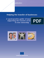 Helping the transfer of businesses