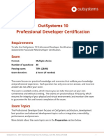 OutSystems 10 Professional Developer Certification