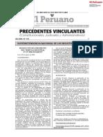POO relacionados al Registro de predios, habilitaciones urbanas, saneamiento de predios y bienes del Estado.