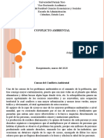 Conflicto Ambiental PPT