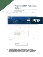 Manual de Admisión MBA Plataforma CENTRUM Online.pdf