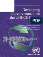 Developing Entrepreneurship in the UNECE Region