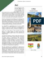 La Rioja (España) - Wikipedia, la enciclopedia libre