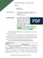 CLASES DE METODOLOGÍA 2020 COMPLEMENTADAS CON LOS LIBROS