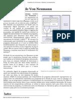 Arquitectura de Von Neumann - Wikipedia, la enciclopedia libre