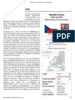 República Checa - Wikipedia, la enciclopedia libre
