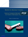 Markets for Business Transfers