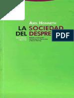 HONNETH-Axel-Sociedad-Desprecio