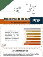 06-3 Reacciones de los carbohidratos