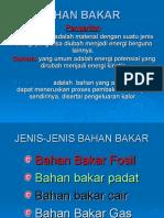 BAHAN BAKAR PPT