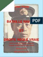 Bataille navale et droite règle vraie