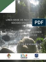 Diagnóstico socioeconómico Piendamó