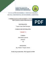 COMERCIALIZACIÓN INTERNA Y EXTERNA DE FRUTALES E INDUSTRIALIZACIÓN