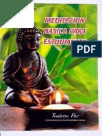 Meditación Básica - Teodocio Paz.pdf