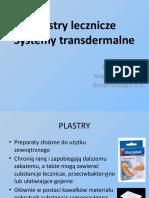 Plastry lecznicze