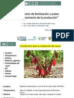 taller en Manejo practico de Fertilización y podas en cacao