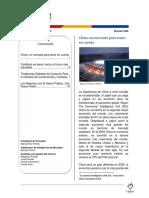 Informe Tendencia Diciembre 2009