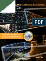 Metro Audit