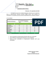 [2020 09 7] Comunicación Oficial COVID 19