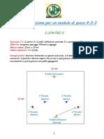 VIBE BRIANZA - AA VV - Articolo -Giochi di Posizione per il 4-3-3 - ITA