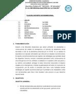 PLAN DE SOPORTE EMOCIONAL 2020