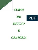 Curso de Dicção e Oratória (apostila)