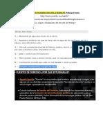 FUENTES DERECHO DEL TRABAJO Rodrigo Pessoa