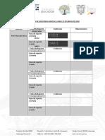 Formato de Registro de Asistencia