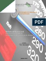 BSC/ESTA - Balanced Scorecard - Avaliação de Desempenho da Escola Superior de Tecnologias de Abrantes