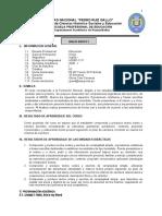 SILABO INGLES BÁSICO  I-  Inicial 2020 C