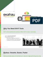 Ekahau Sales Presentation
