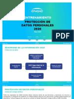 Entrenamiento Protección datos 2020 Nueva presentación