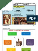 2020-I - Literatura Medieval y Moderna - CLASE 8 Humanismo y Prerrenacimiento (Siglo XIV)