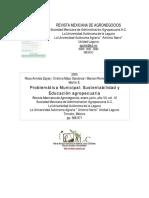 Sustentabilidad y Educacion Agropecuaria