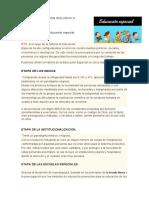 EDUCACION INCLUSIVA- HISTORIA- INCLUSION Y INTEGRACION 2020-2