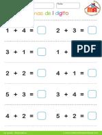Sumas para primer grado avanzado.pdf