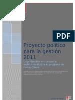 Proyecto estructural e institucional para el progreso de Fortín Olmos