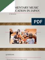 Music Education in Japan
