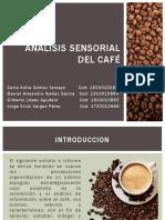 Analisís sensorial del café -Resultados de encuesta