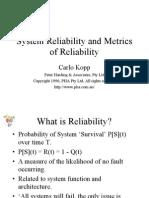 Reliability-PHA