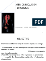 L'EXAMEN CLINIQUE EN UROLOGIE.pptx