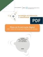 SIO/ESTA - Plano de Preservação Digital (PPD) - CRIA