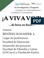 Información para afiche sobre Oralidad