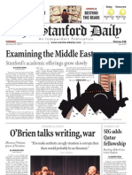 The Stanford Daily, Jan. 25, 2011