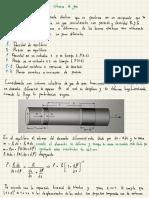 ondas longitudinales en una columna de gas